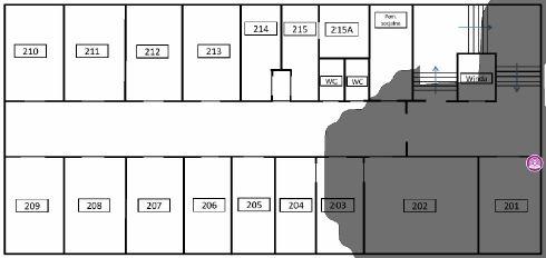 TamoGraph Site Survey - pokrycie terenu przez AP 2,4GHz AP01