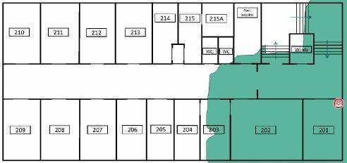 TamoGraph Site Survey - pokrycie terenu przez AP 5GHz AP01