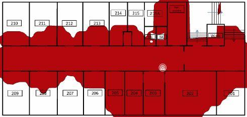 TamoGraph Site Survey - pokrycie terenu przez AP 5GHz AP02
